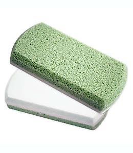 Piedra suavizante para pies Earth Therapeutics®, en verde