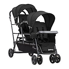 image of Joovy® Big Caboose Graphite Stand-On Triple Stroller in Black