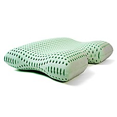 image of Authentic Comfort® Green Tea Memory Foam Advanced Contour Pillow