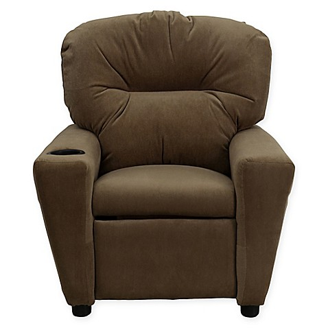 Buy Flash Furniture Microfiber Kids Recliner With Cup
