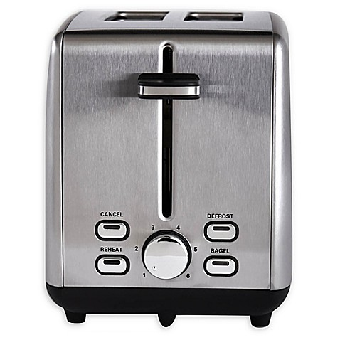 Stainless Steel 2 Slice Toaster Bed Bath & Beyond