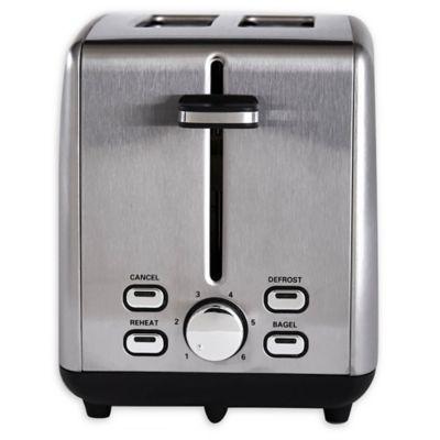 Stainless Steel 2-Slice Toaster - Bed Bath \u0026 Beyond