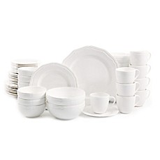 Gibson Miranda 48-Piece Dinnerware Set  sc 1 st  Bed Bath u0026 Beyond & Dinnerware Sets: Stoneware Square Dinnerware and more | Bed Bath ...