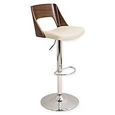 image of LumiSource Valencia Adjustable Barstool with Swivel