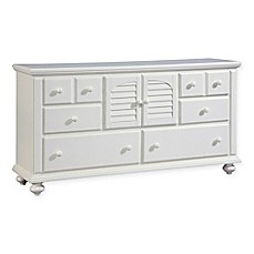 image of Broyhill™ Seabrooke Door Dresser in White