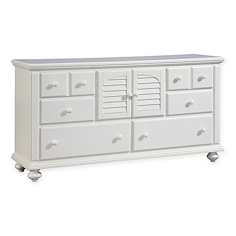 Buy Broyhill Seabrooke Door Dresser In White From Bed Bath Beyond