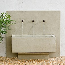 image of Campania X3 Outdoor Fountain in Greystone