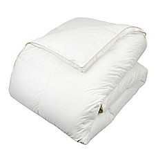 image of Glucksberg European Goose Down Comforter in White