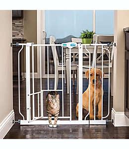 Puerta de acero para mascotas Carlson® color blanco