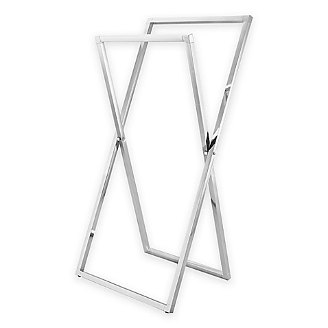Kingston Brass X Frame Freestanding Collapsible Towel Rack