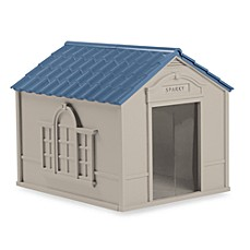 image of Suncast® Large Deluxe Dog House