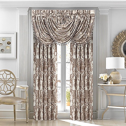J Queen New York Crystal Palace Window Curtain Panels And Valance Bed Bath Beyond