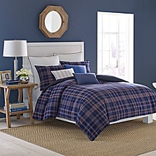 image of Nautica® Eldridge Plaid Comforter Set