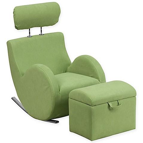 Flash Furniture Hercules Kids Fabric Rocking Chair And