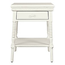 image of Stone & Leigh by Stanley Furniture Smiling Hill Bedside Table in Marshmallow