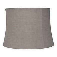 Image Of Mix U0026 Match Medium 14 Inch Softback Bell Lamp Shade In Brown