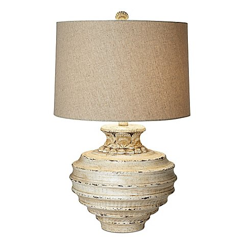 Bed Bath And Beyond White Lamp Seashell