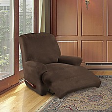 Image Of FurnitureSkins™ Kensington 4 Piece Stretch Recliner Cover