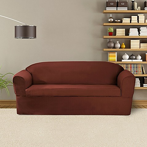 Buy Furnitureskins Bayview 2 Piece Wrap Style Sofa Slipcover For Box Or T Cushion In Red From