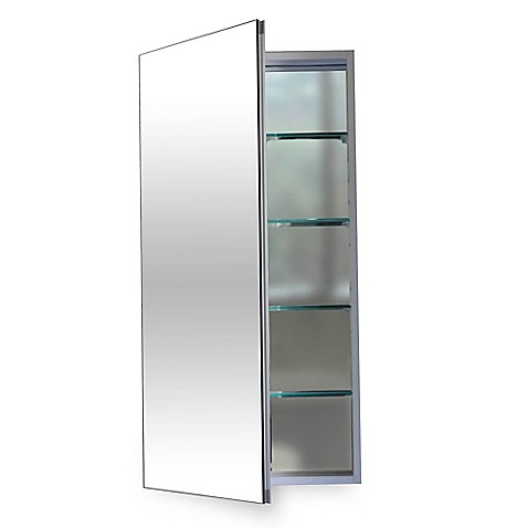 Flawless 12-Inch Medicine Cabinet in Silver  sc 1 st  Bed Bath u0026 Beyond & Flawless 12-Inch Medicine Cabinet in Silver - Bed Bath u0026 Beyond