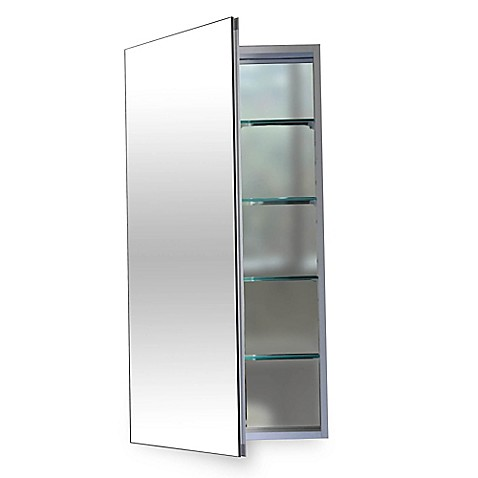 Buy flawless 12 inch x 40 inch medicine cabinet in silver for Sideboard 90 x 40