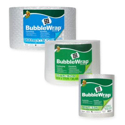 image of Duck® Bubble Wrap® - Clear