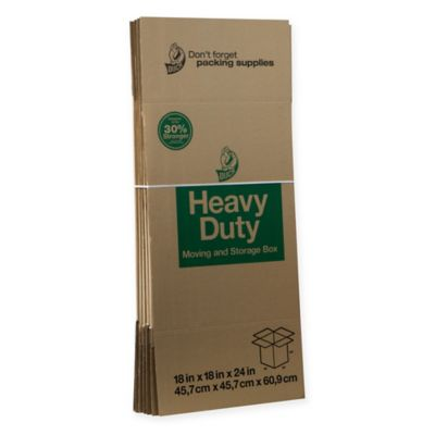image of Duck® Brand Heavy Duty Kraft Boxes