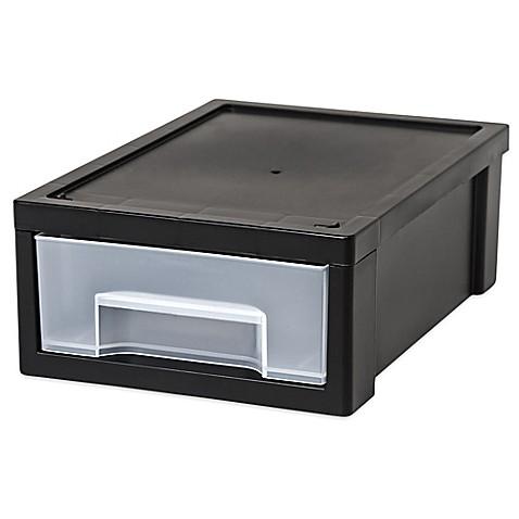 Buy Iris Usa Small Desktop Stacking Drawer In Black Set
