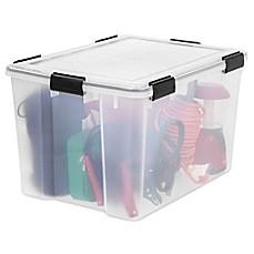IRIS® Weathertight® Storage Containers (Set of 4)  sc 1 st  Bed Bath u0026 Beyond & Storage Baskets Bins u0026 Basket Containers | Bed Bath u0026 Beyond
