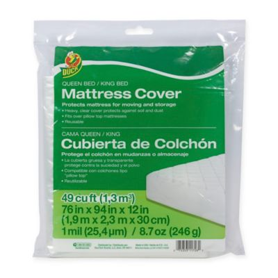 image of Duck® Brand Queen/King Mattress Cover