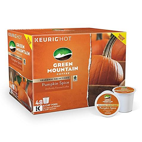 Green Mountain Pumpkin Spice K Cup Bed Bath Beyond