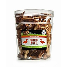 image of Pet 'n Shape™ All-Natural Duck Feet 1 lb. Tub Dog Treats