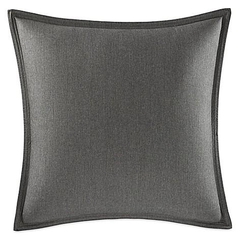 Nautica 174 Hayes European Pillow Sham In Charcoal Bed Bath