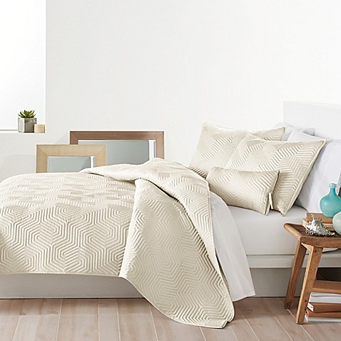 dkny helix quilt - bed bath & beyond