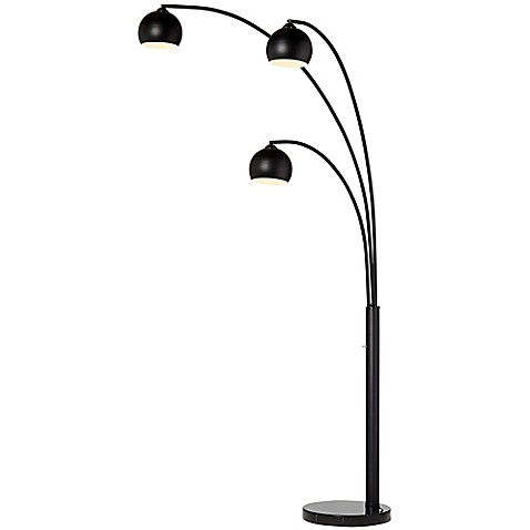 Pacific Coast Lighting 174 Crosstown 3 Light Arc Floor Lamp