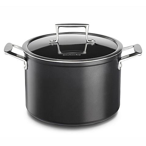 Kitchen Aid  Quart Nonstick Stock Pot