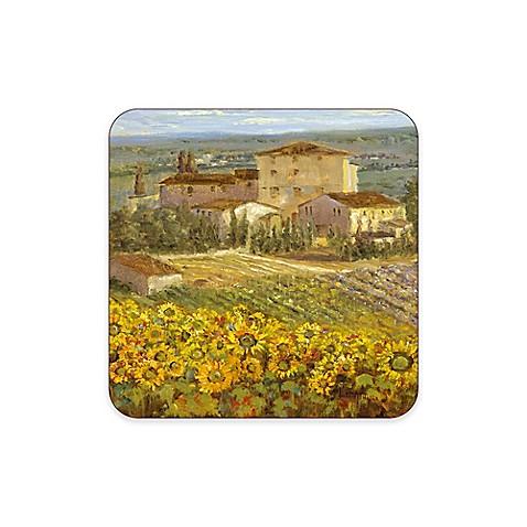 pimpernel tuscany coasters set of 6 bed bath beyond. Black Bedroom Furniture Sets. Home Design Ideas