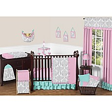image of Sweet Jojo Designs Skylar 11-Piece Crib Bedding Set