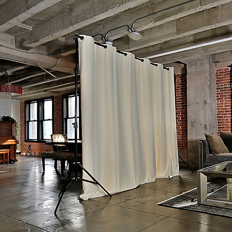 Buy room dividers now small freestanding room divider kit for Small room partitions