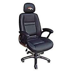 image of NFL Denver Broncos Leather Executive Chair