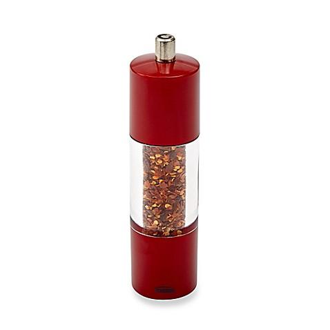 Trudeau Adagio 7 5 Inch Red Chile Pepper Mill Bed Bath