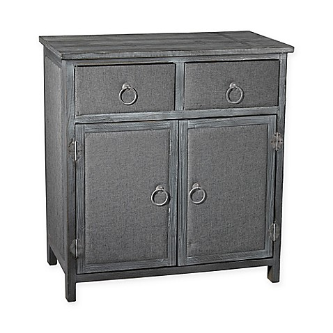 Sterling Industries Linen Covered Furniture Collection In Grey Bed Bath Beyond