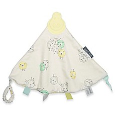 image of Cheeky Chompers® Comfortchew® Barnaby Sheep 2-in-1 Teether Blanket in Yellow