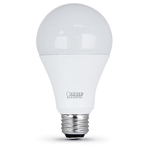 feit electric 21 watt 3 way led light bulb bed bath beyond. Black Bedroom Furniture Sets. Home Design Ideas