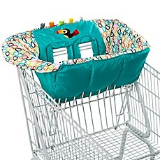 image of Bright Starts™ Tag N' Go Tiny Toucan Shopping Cart Cover