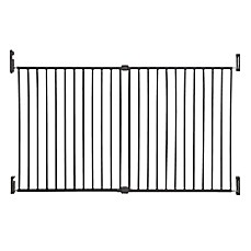 image of Dreambaby® Broadway Extra Wide Gro-Gate® in Charcoal
