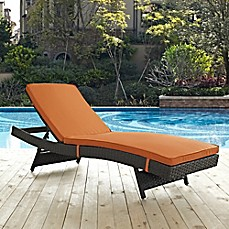 Image Of Sojourn Outdoor Patio Chaise In Sunbrella® Canvas