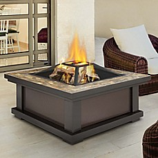 image of Real Flame® Alderwood Fire Pit in Black