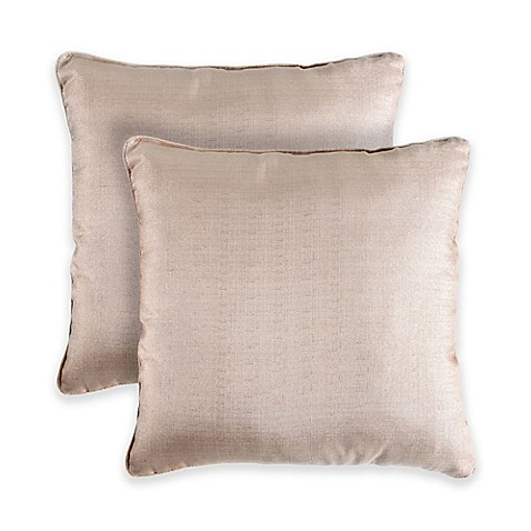 Lurex 18 Inch Square Throw Pillow Bed Bath Amp Beyond