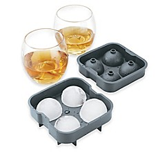 image of Brookstone® 3-Piece Ice Ball Drink Set